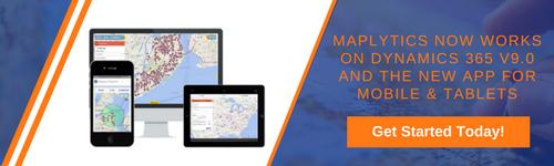 Dynamics CRM Maps