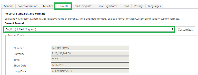 Unable to import CSV file due to error The source data is not in the required format in Dynamics 365