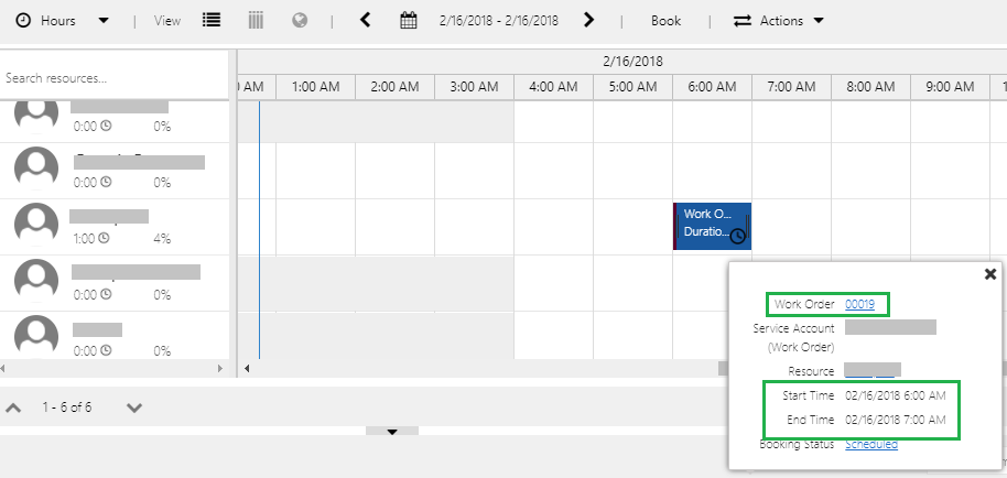 Scheduler Settings in Schedule Board