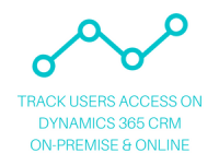 track users access on Dynamics 365 CRM on-premise & online