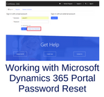 Working with Microsoft Dynamics 365 Portal Password Reset