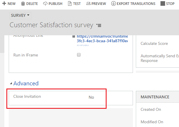 Steps to Prevent VOC from Failing to Create Feedback Entity Records While Chaining Survey in Dynamics 365