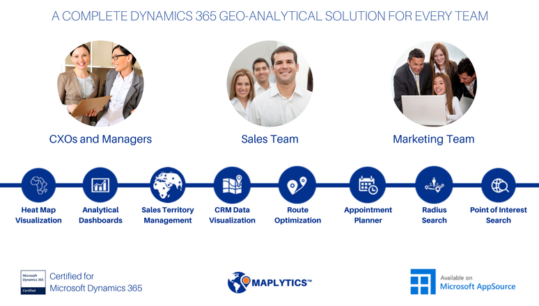 Top 8 Reasons Why You Should Have Maplytics as a Part of Your CRM Strategy