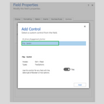 Controls in Dynamics 365 for Mobile App: Flip Switch
