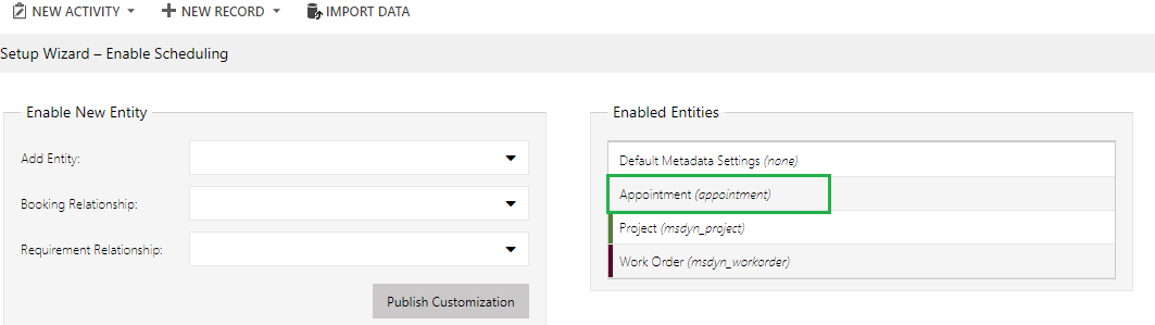 Appointments on Schedule Board in Dynamics 365 Field Service