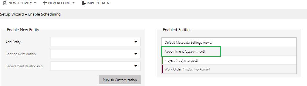 Appointments on Schedule Board in Dynamics 365 Field Service