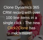 Copy Dynamics CRM Records