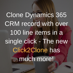 Copy Dynamics CRM Records