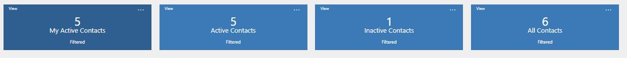 New Entity Specific Dashboard in Dynamics 365 v9.0