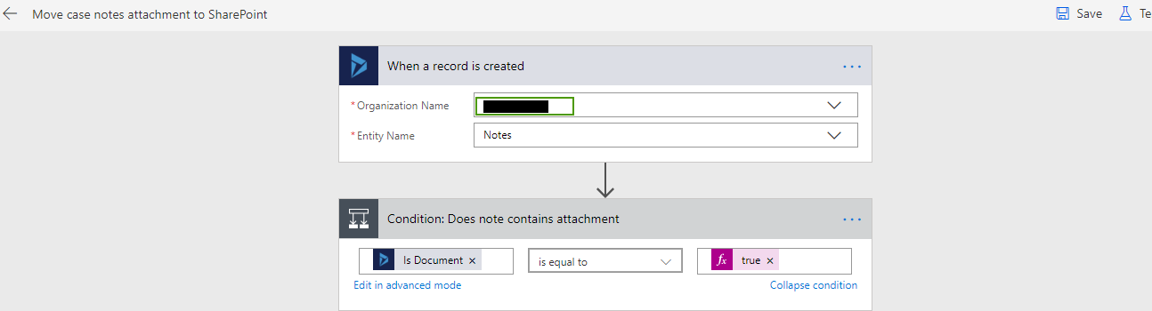 Import Microsoft Flow in Dynamics 365