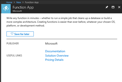 Integrating D365 with Azure Functions