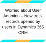 Dynamics CRM User Activity