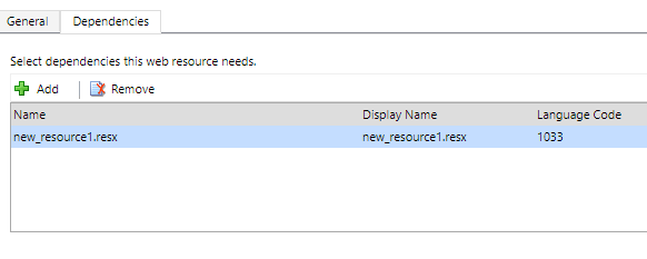 Working with String (RESX) web resource in Dynamics 365 v9.0