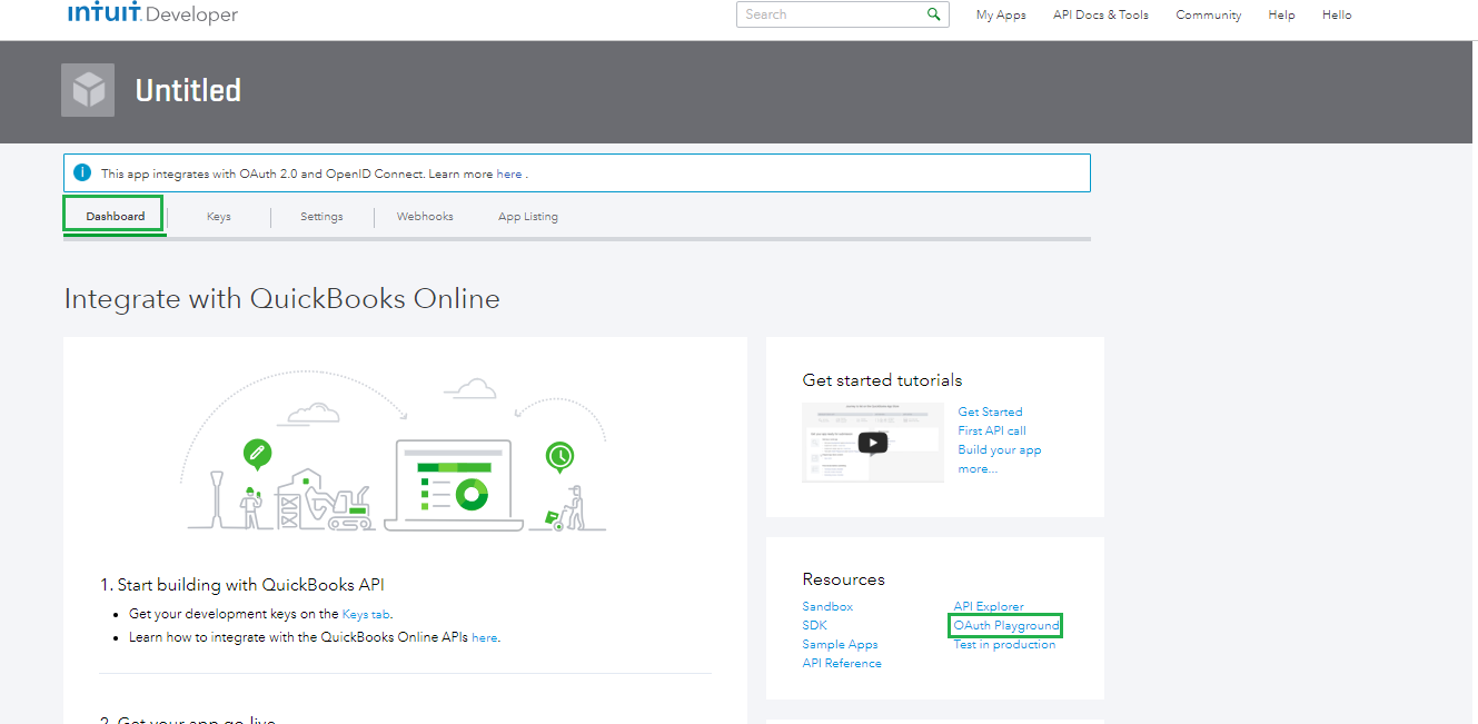 Connecting Microsoft Dynamics 365 Dynamics CRM and Intuit QuickBooks Online