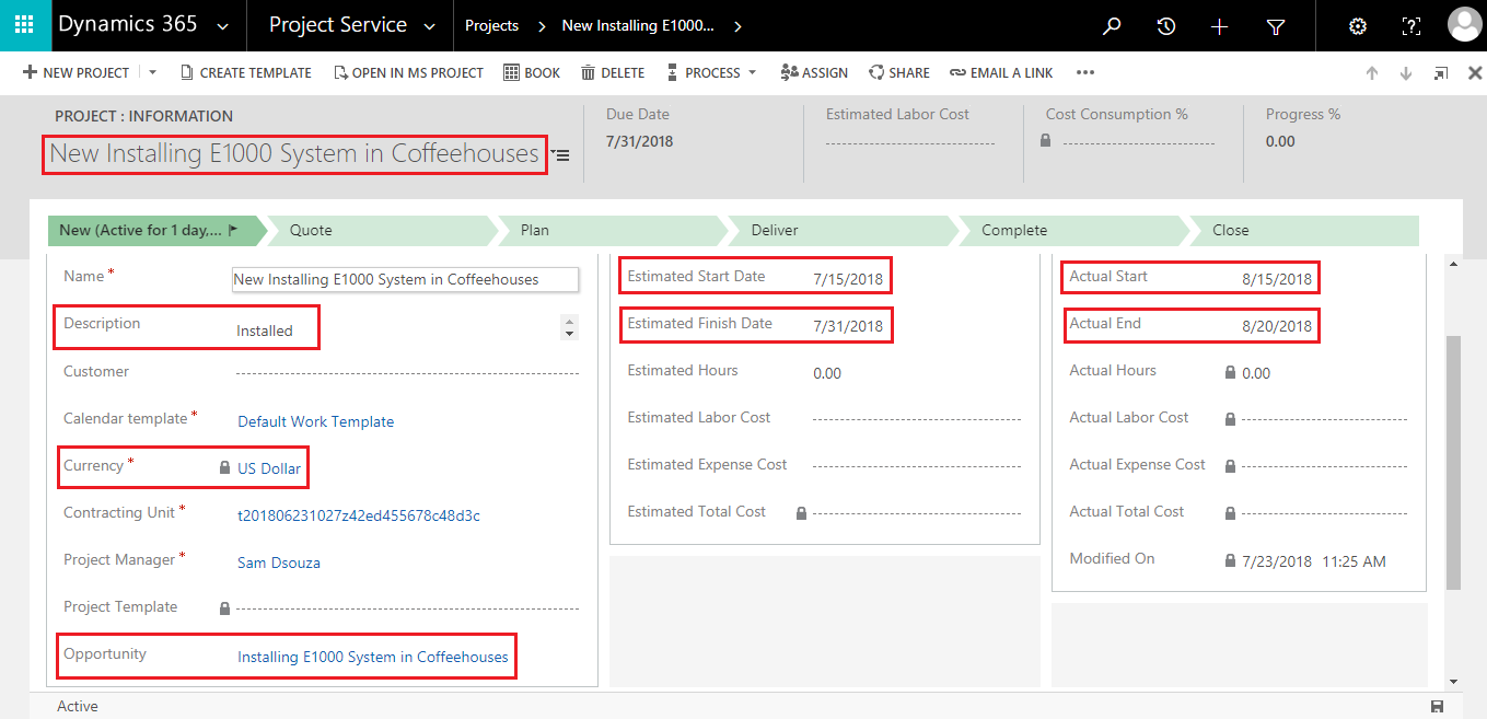 Dynamics CRM Copy Records
