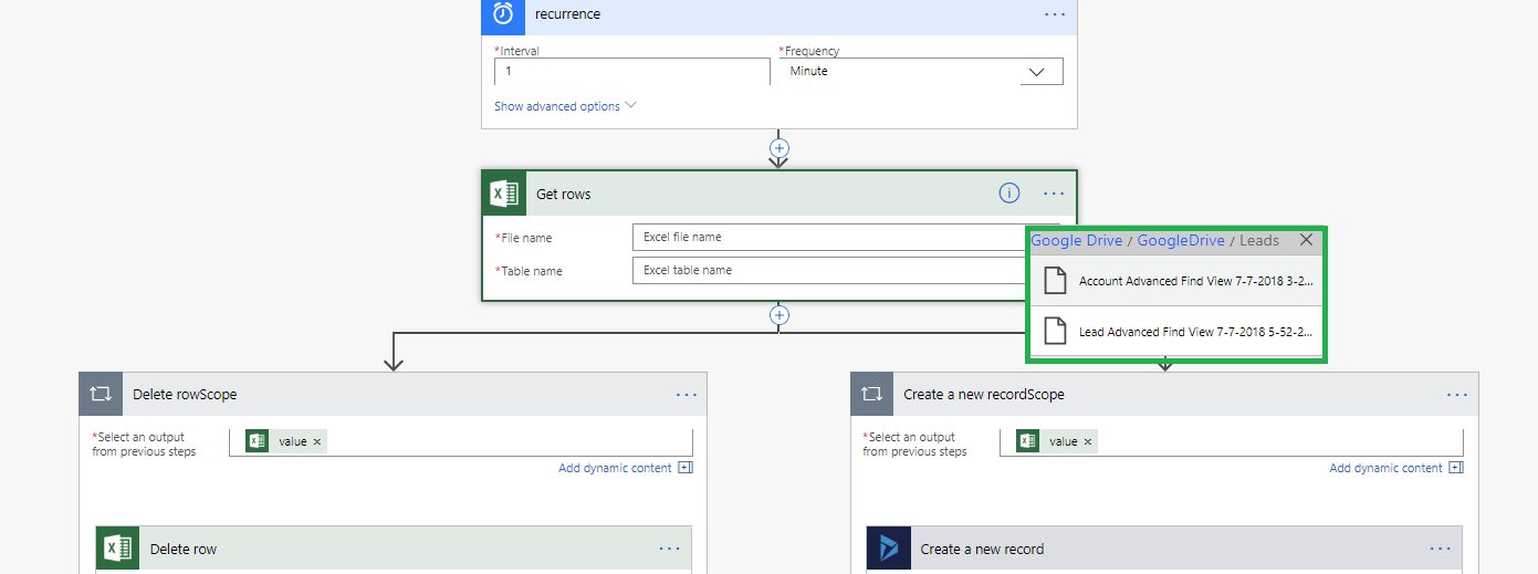Create Dynamics 365 Records from an Excel using Microsoft