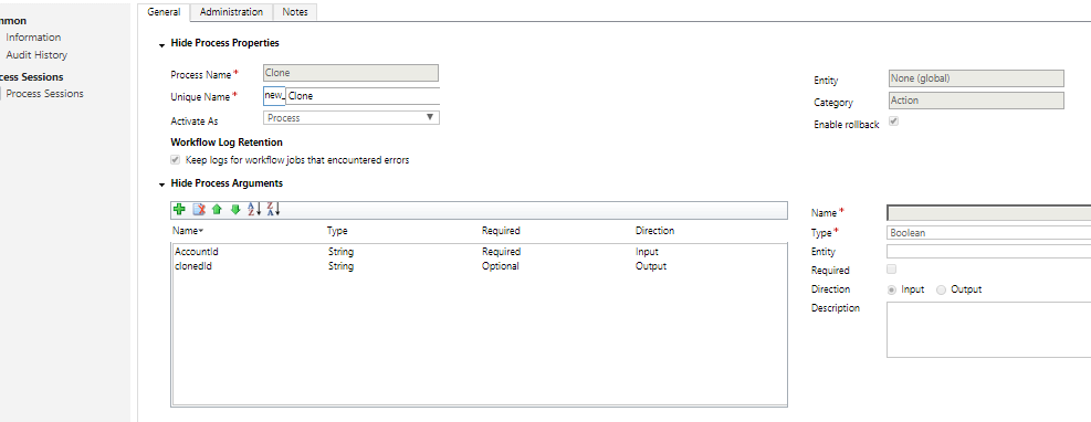 Execute Global Action in Dynamics 365