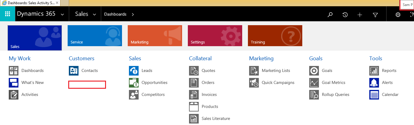 Sitemap Privileges feature in Dynamics 365