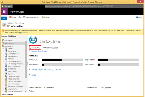 Steps to Upgrade Click2Clone - One Click Solution to Clone Dynamics 365 CRM Records
