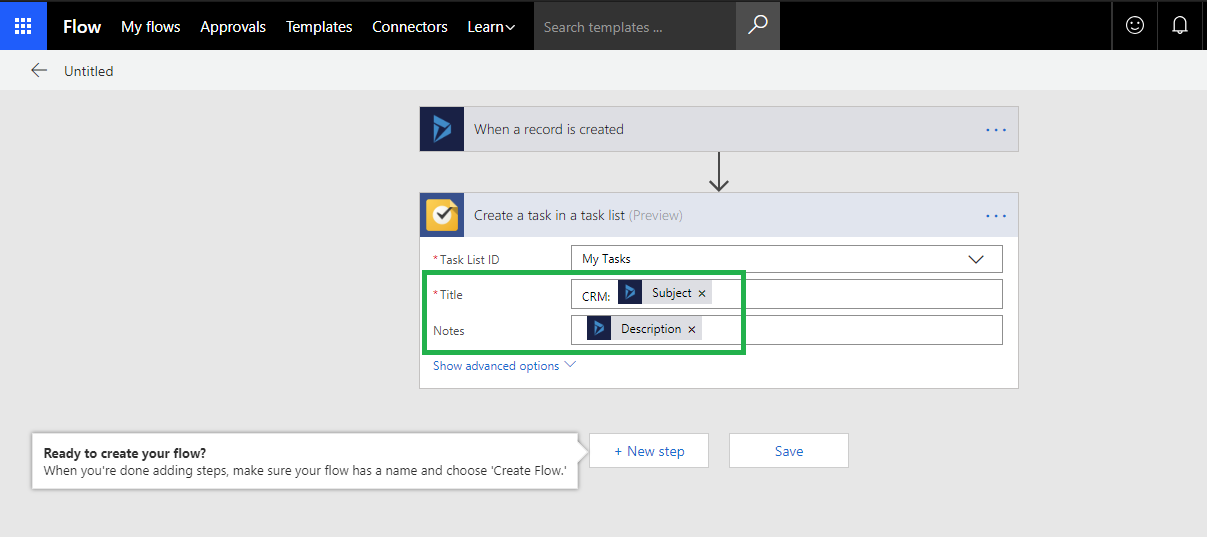 Synchronizing Dynamics 365 Tasks with Google Tasks