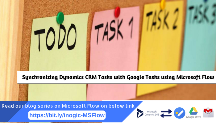 Synchronizing Dynamics CRM Tasks with Google Tasks