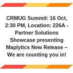 CRMUG Summit 2018