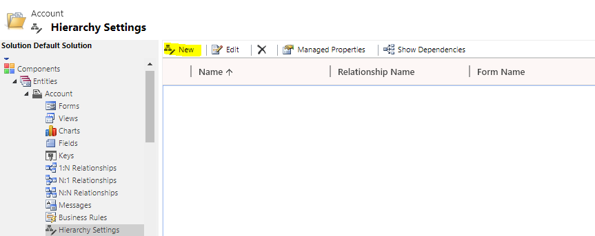 Under and Not Under Clauses in Dynamics 365 CRM
