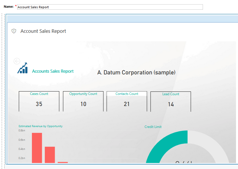 Different ways of Publishing Power BI reports in Dynamics 365 CRM