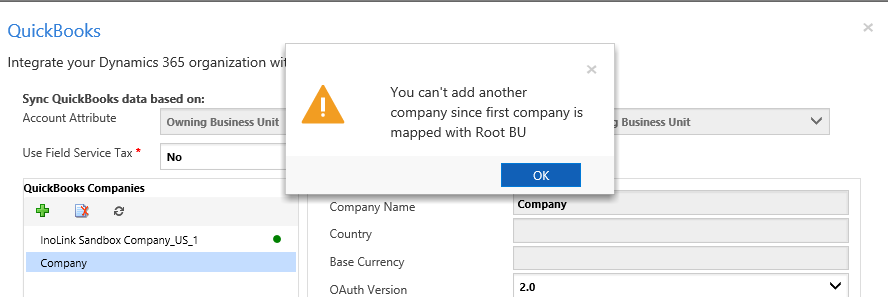 Connect and configure QuickBooks | Microsoft Dynamics 365