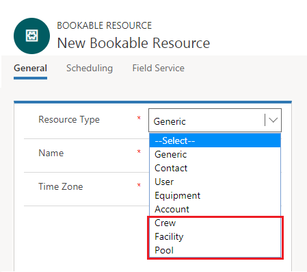 Scheduling Multiple Resource for a Work Order using Crew in Dynamics 365