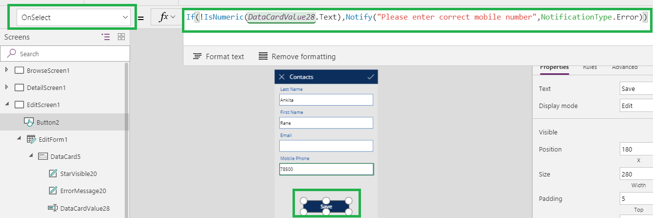 Notify functions in Canvas Power App | Microsoft Dynamics