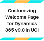Show Custom Welcome Page in UCI