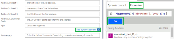 Calculate Age in Dynamics 365 as Number of Years using Microsoft