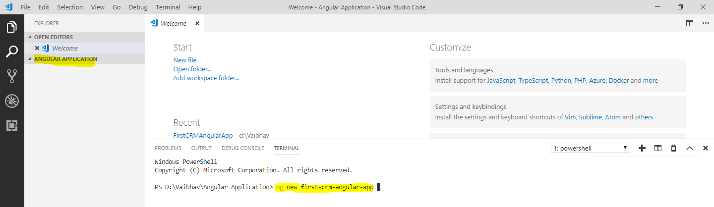 Using Angular in Dynamics 365 CRM – Part I | Microsoft