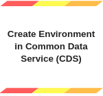 Create Environment in CDS