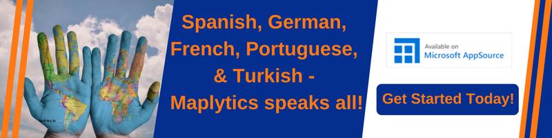 Multiple Language Map