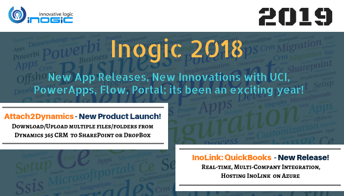 Inogic 2018 – New App Releases, New Innovations with UCI, PowerApps