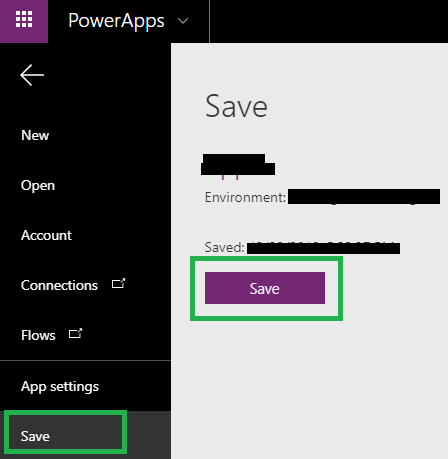 Dynamics 365 in PowerApps