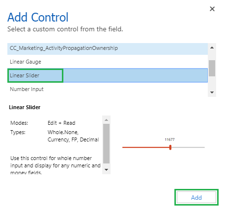 Mobile Control in Microsoft Dynamics 365 v9.0