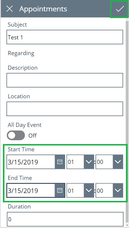 Converting Date and Time based on User Time Zone in PowerApp