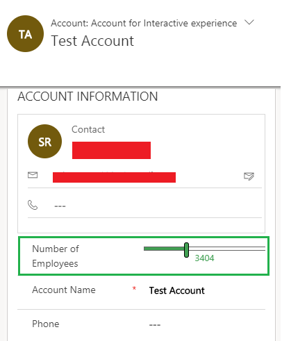 Mobile Control in Microsoft Dynamics 365 v9.0
