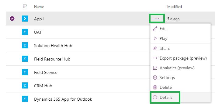 Open PowerApps from Inside Dynamics 365 CRM | Microsoft