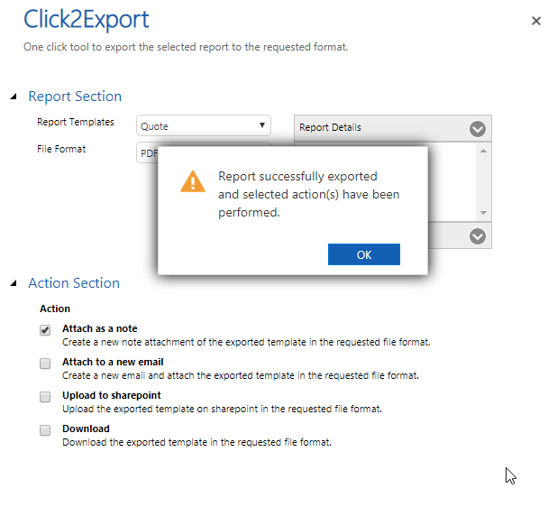 Select & Export a Single Record from within a Particular Record