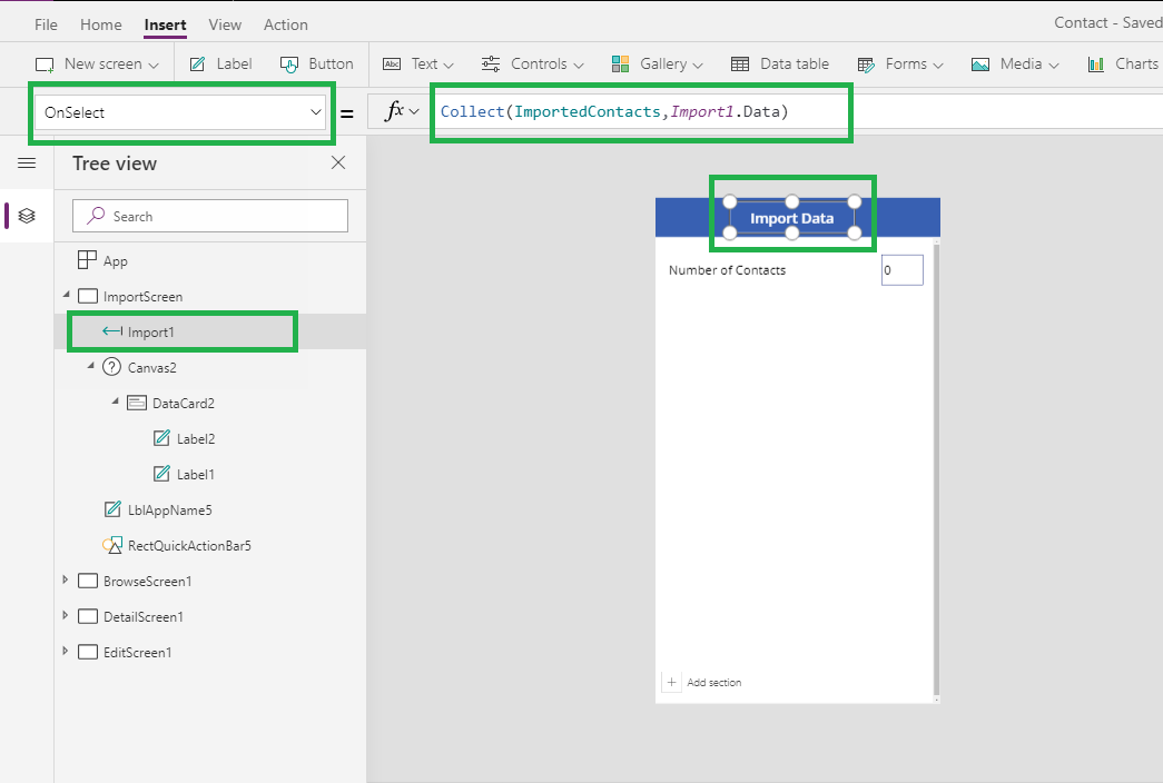 Import or Export Records from PowerApps for Dynamics 365 CE
