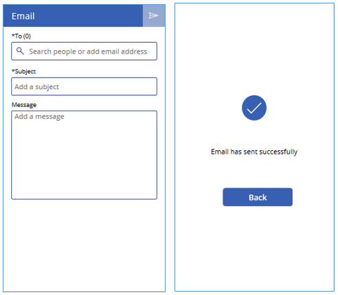 How to Use Email Screen in PowerApps - Microsoft Dynamics