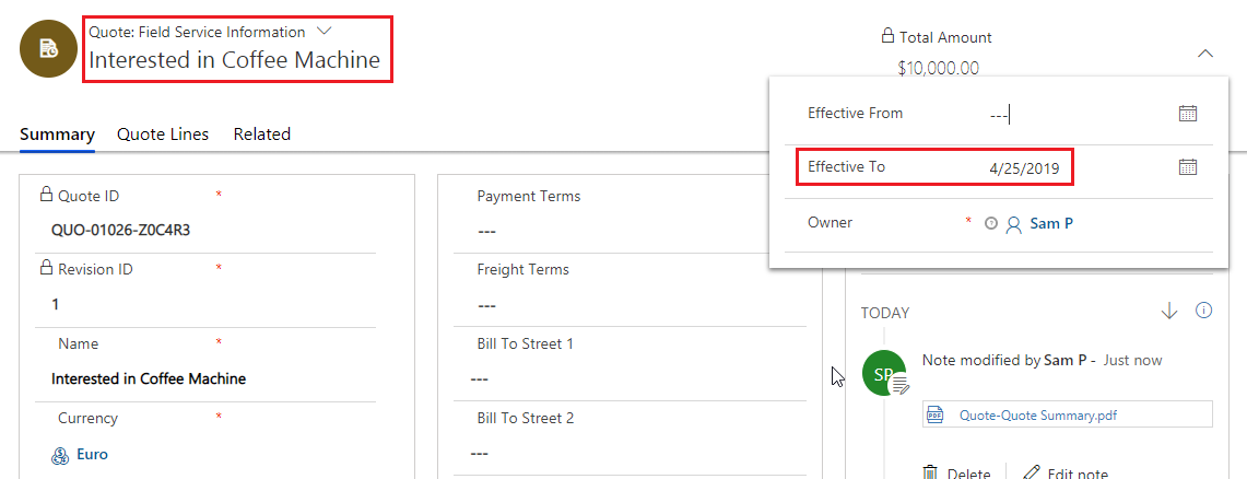 Note or Upload to Sharepoint within Dynamics 365 CRM
