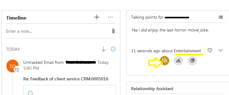 Connection Insights feature