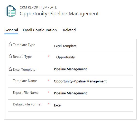 Export Dynamics 365 CRM Reports