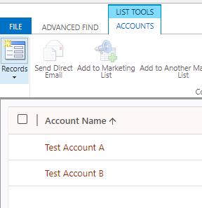 Dynamics 365 CRM using Semicolon Separated Text