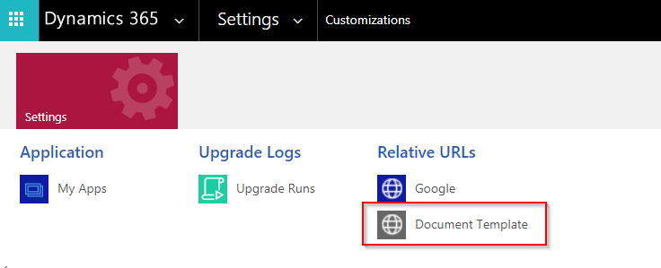 Use of Relative URLs in Dynamics 365 CRM Classic Web & Unified Interface SiteMap
